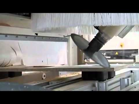 SCM TECH Z5 5 AXIS CNC - YouTube
