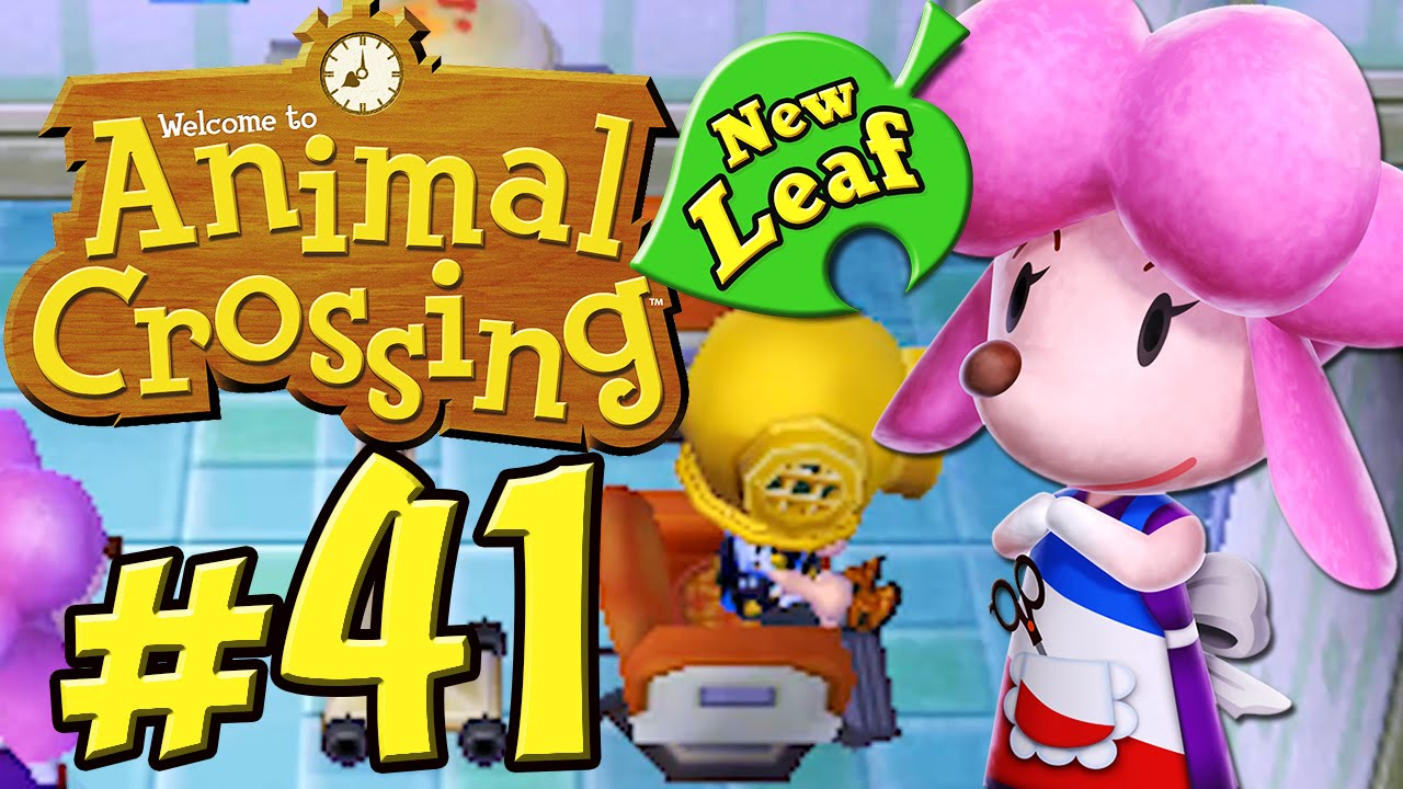 Animal Crossing New Leaf 41 Haarstraubendes Beim Friseur Hd 60fps