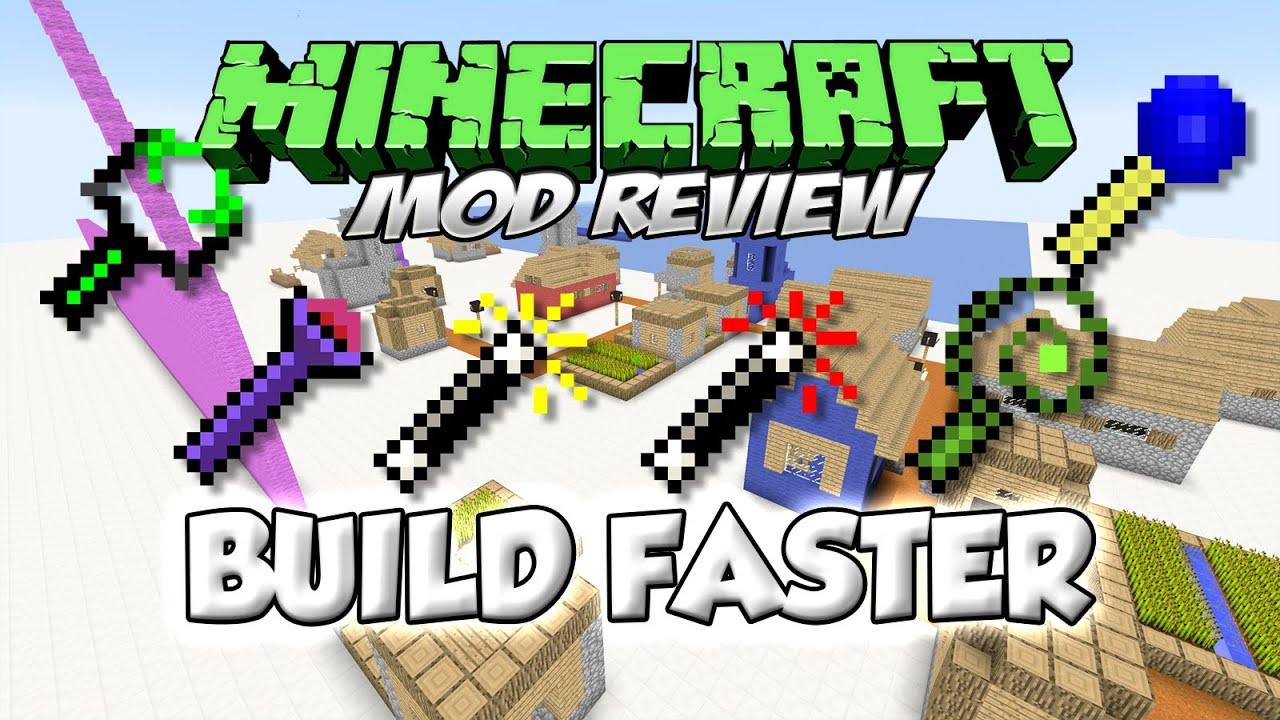 Faster Building Mod Minecraft