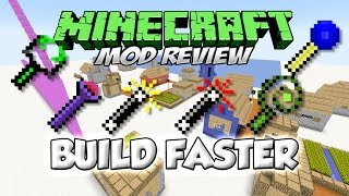 BUILD FASTER MOD - El WorldEdit hecho Mod [Forge][1.7.10][Español]
