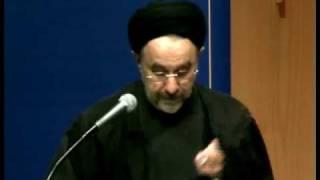 H.E. Dr Seyed Mohammad Khatami: 'Dialogue, Justice and Peace' at ANU pt5