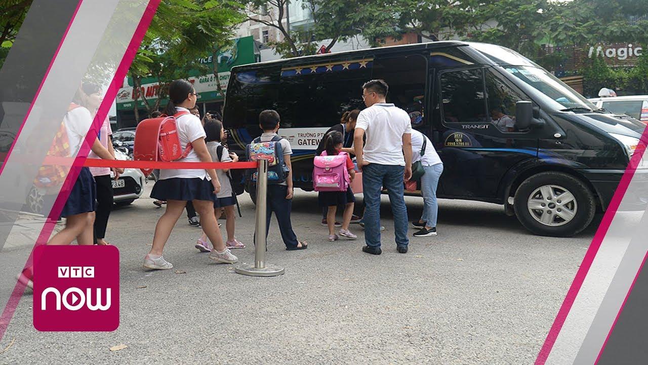 Siết chặt quản lý xe đưa đón học sinh