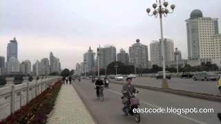 Minzu Avenue 民族大道 and Nanhu lake Nanning China
