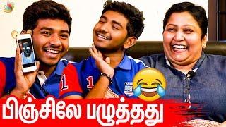 தைரியமா என் கிட்டயே சொன்னான் : Grace & Ken Karunas Super Fun Interview | Asuran Movie