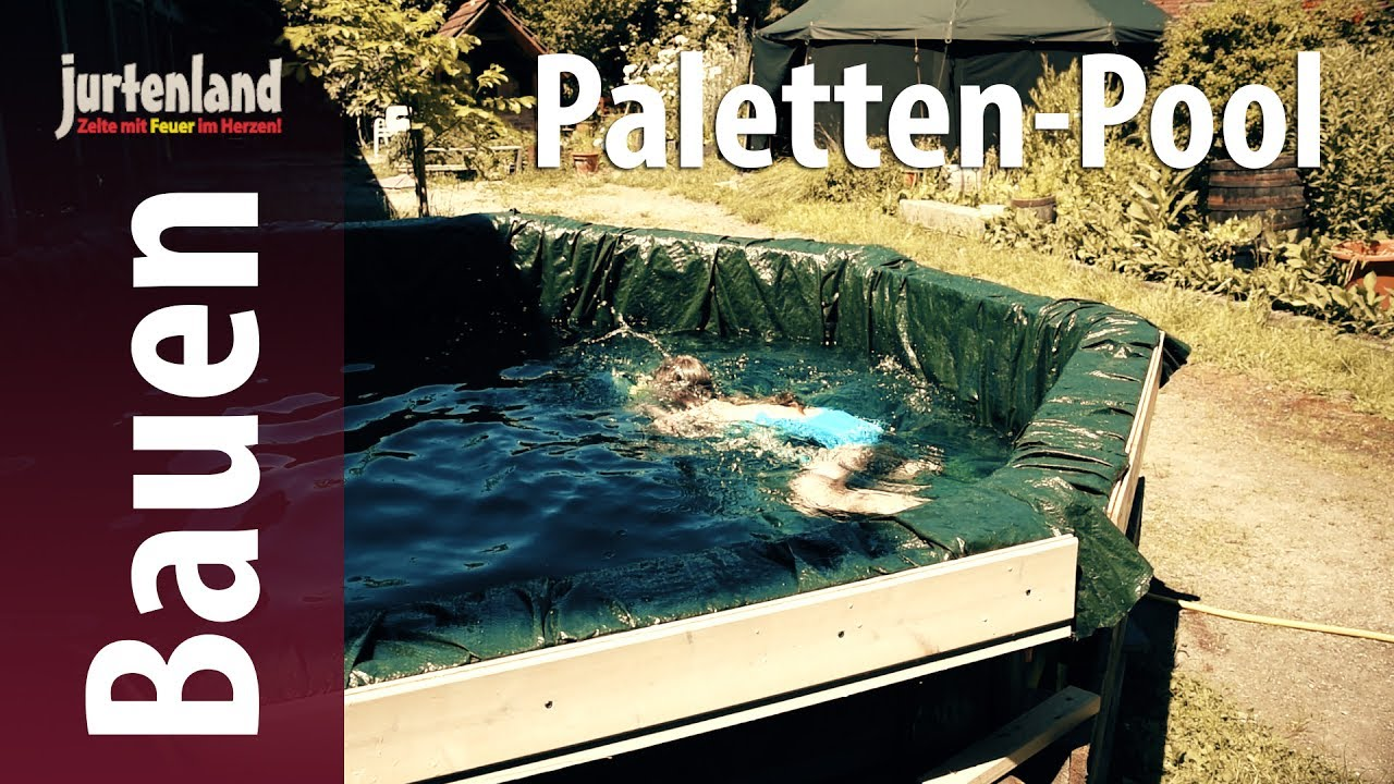 Swimming Pool Aus Paletten Paletten Pool Jurtenland