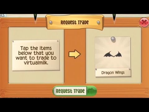 Exploring and Random Trading Animal Jam Play Wild