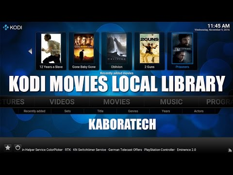 How to add your Movie Collection on Kodi