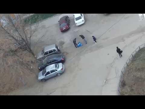 Прыжки по машинам в Сызрани