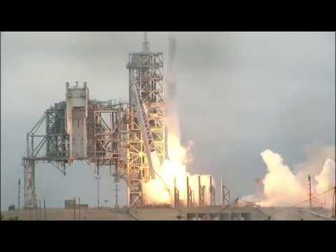 On Second Attempt, SpaceX Launches Rocket At NASA's Historic Pad