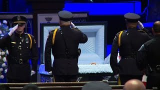 Police from across the nation attend funeral for Sr. Cpl. Lorne Ahrens