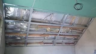 мансардный потолок в три плоскости. Очередность монтажа.