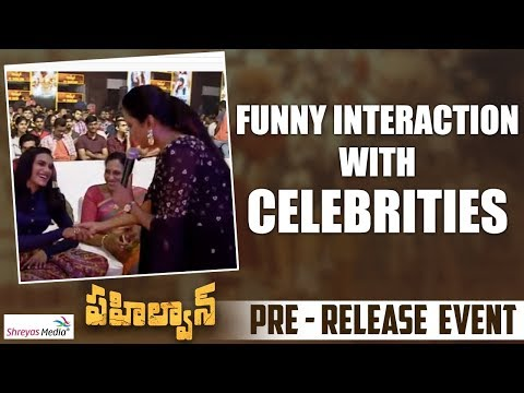 anchor-suma-funny-interaction-with-celebrities-|-pehlwaan-pre-release-event-|-shreyas-media