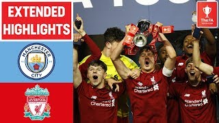 Glatzel Scores Winning Penalty! | Manchester City 1-1 Liverpool (3-5) | FA Youth Cup 18/19