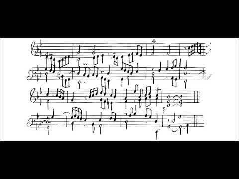 Chambonnières: Pavanne in g minor. John Moraitis, harpsichord.