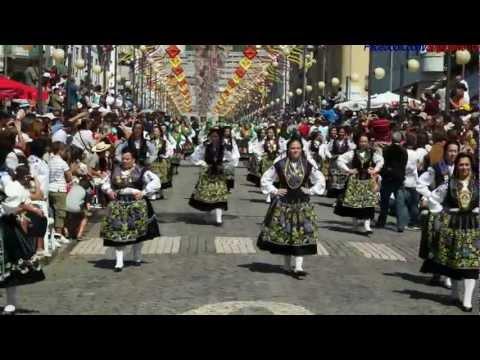 Viana do Castelo - Romaria Srª da Agonia 2012 - Desfile da Mordomia.