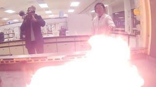 Calcium Carbide & Acetylene - Periodic Table of Videos