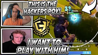 Streamer Gets Aimbotted & Shows The HACKERS POV That RUINED The FNCS Tournament! *PROS MAD* Fortnite