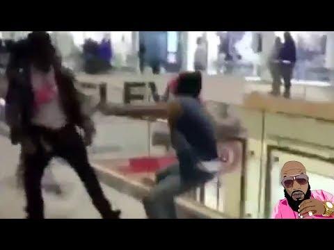 YFN Lucci Sauce Walka Run Up On Young Thug