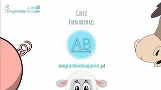 Angielski dla dzieci ♪ Zwierzęta na wsi ♪ Zabawa ♪ Farm Animals ♪ Game ♪ Angielski