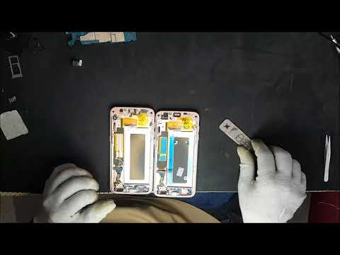 Samsung Galaxy S7 Edge SM-G935F sostituzione display. Display Replacement