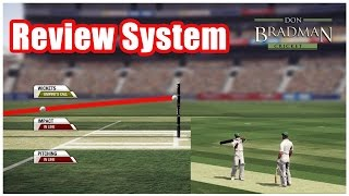 Review system in don bradman cricket 14 pc gameplay