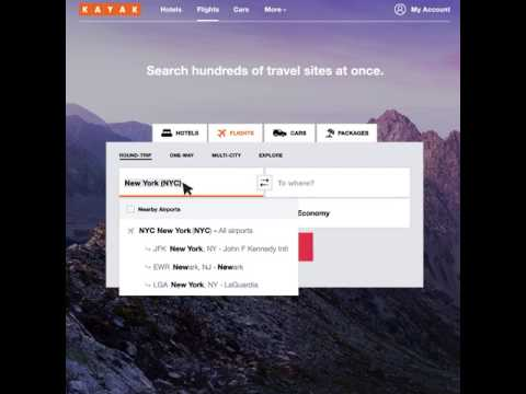 KAYAK Hack: Nearby Airports