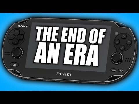 The PlayStation Vita Ends Production In Japan