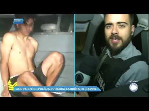 Record TV acompanha operação contra quadrilha especializada em roubos de carro