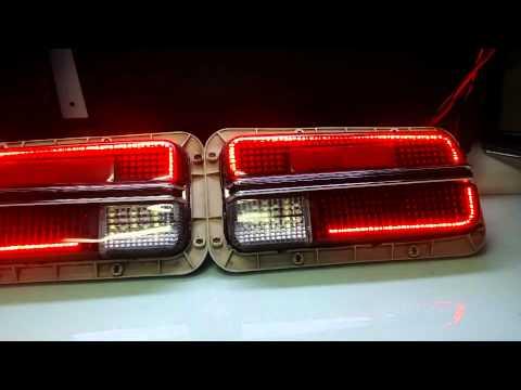 DATSUN 240Z CUSTOM LED TAIL LIGHT by zLEDs - YouTube