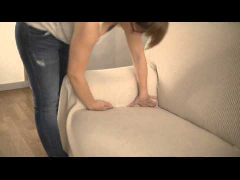 How to Put a Sofa Throw Cover