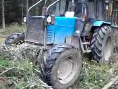 тракторы бизон трек шоу видео