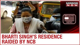 NCB Raids Comedian Bharti Singh's Residence In Connection With B-town Drug Link Probe