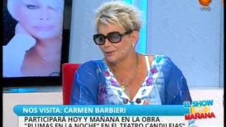 Carmen Barbieri en Carlos Paz 12 01 2016