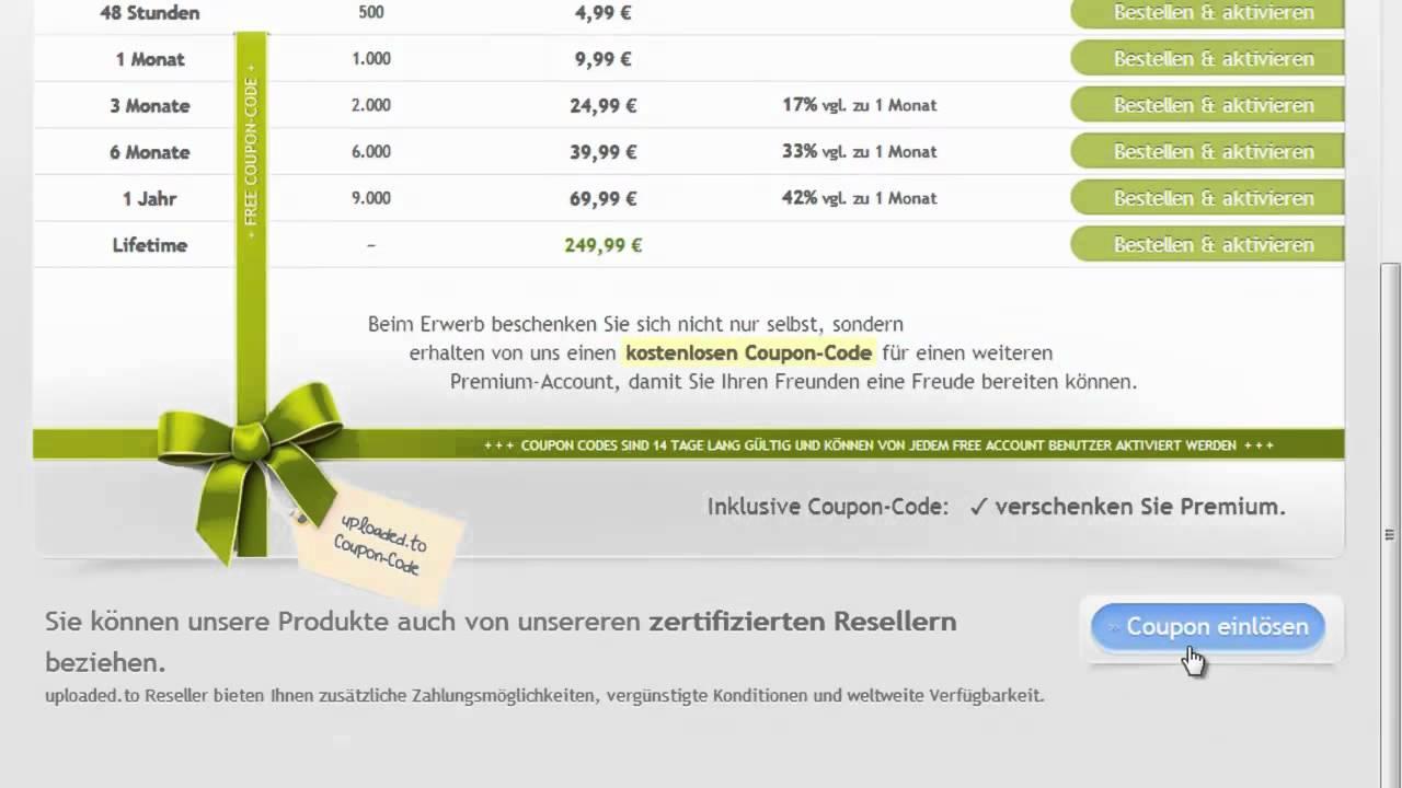 Ul.to coupon einlösen