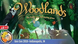 Woodlands — game overview at Gen Con 2018