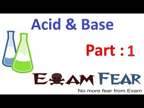 Chemistry Acid & Base part 1 (Acid Introduction) CBSE class 10 X