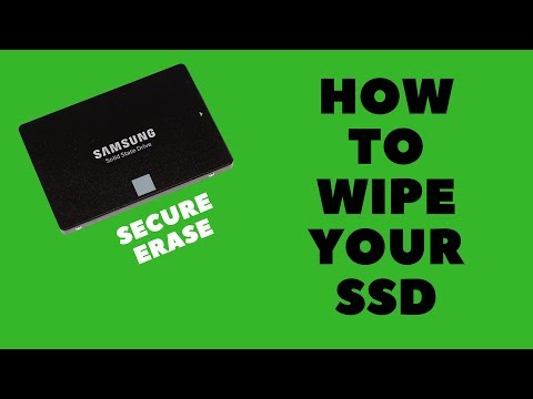 How to Wipe Your SSD