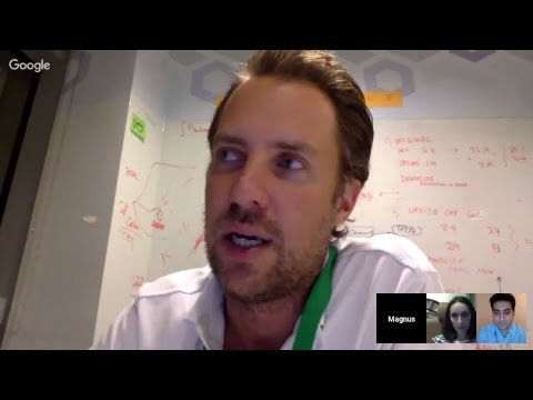 Jusoor's Entrepreneurial Session No. 7 with Magnus Olsson