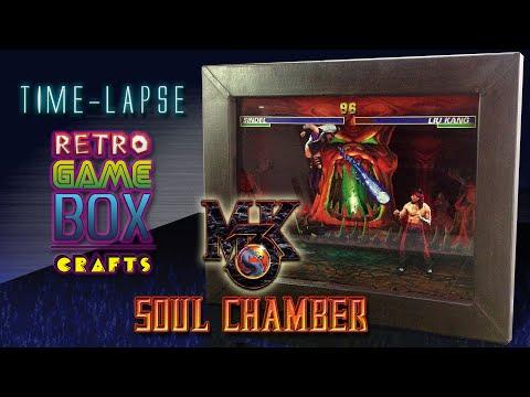 [Time-lapse] Mortal Kombat 3 Diorama/Shadowbox