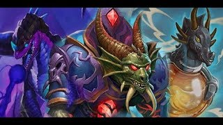 Hearthstone. Kobolds And Catacombs. Dragon combo priest