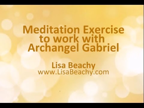 Archangel Gabriel - Meditation Video to create and conceive with this amazing archangel