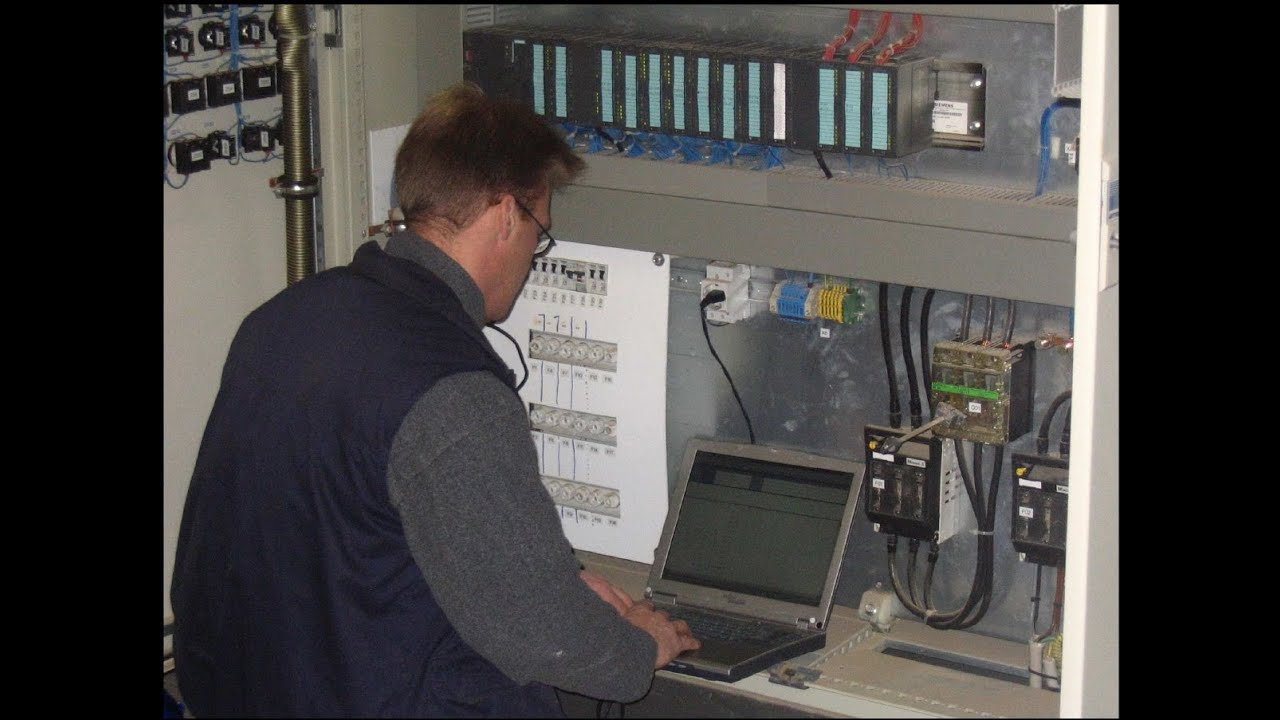 PLC Control Panel Screen Structure From Automatic Pistion Liquid Filling Machine With 6 Head