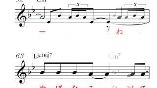 高画質、 明日のヒットメロディーの、17年2月号より、カラオケの音とメ...