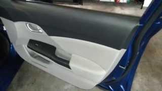 2013 Honda Civic LX Sedan - About To Remove Plastic Interior Door Panel To Upgrade OEM Speaker