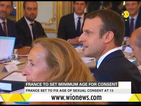 France to set minimum age for consent