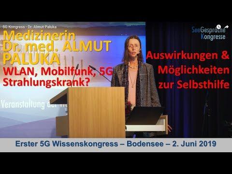 5G Kongress - Dr. Almut Paluka - Strahlungskrank - Hintergründe & Möglichkeiten zur Selbsthilfe