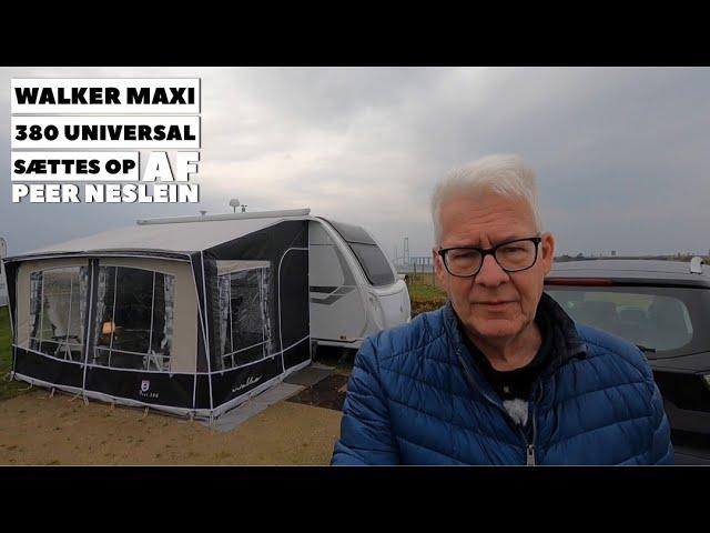 Walker Maxi 380 fra Sørens Camping (Reklame)