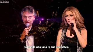 Celine Dion & Andrea Bocelli - The Prayer - Legendado em portugues