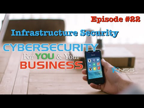 Infrastructure Security - Cybersecurity For You and Your Business EP 22