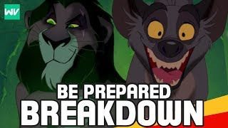 """Be Prepared"" Analysis from The Lion King 